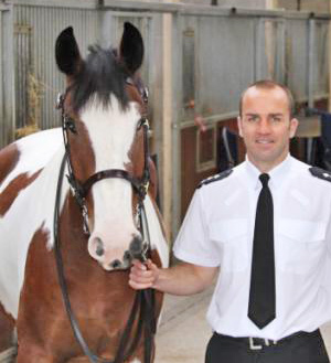 Police horse Guild with Chief Inspector Russ Procter.