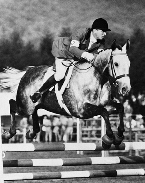 Mauro Checcoli on the way to winning individual eventing gold at the 1964 Olympic Games.