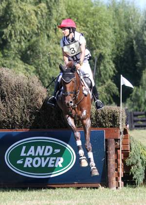Last year's HoY eventing winners, Annabel Wigley and NRM Frog Rock.