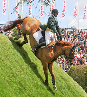 Loughnatousa WB, the winner of last year's Hickstead Derby, will return to the All England Jumping Course this June in a bid to become one of the elite band of horses who have won this famous class more than once.  © Samantha Lamb