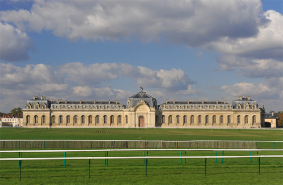The Great Stables at Chantilly.