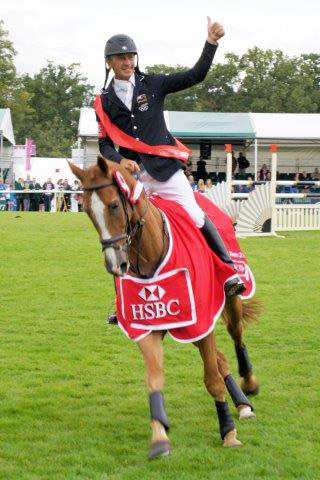 HSBC Classics series winner Andrew Nicholson, pictured on Nereo.