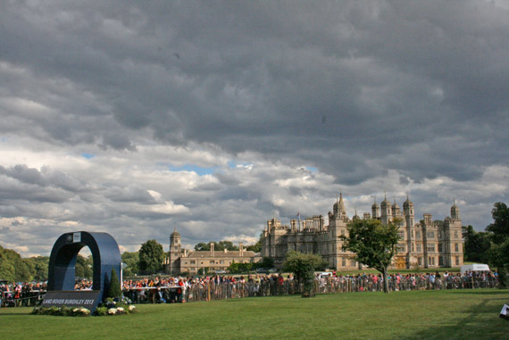 All over for the day at Burghley.