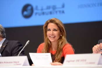Representatives from national federations on four continents made impassioned pleas for Princess Haya, pictured, to reverse her decision not to stand for a third term as FEI president during Thursday's General Assembly in Montreux.
