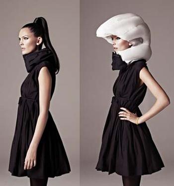 The airbag helmet.