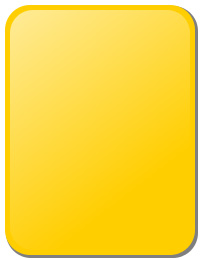 Designed to fit snugly in a referee's pocket, the use of a yellow card is a sporting spectacle in itself.
