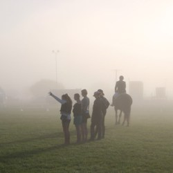 It started out foggy at Hastings ...