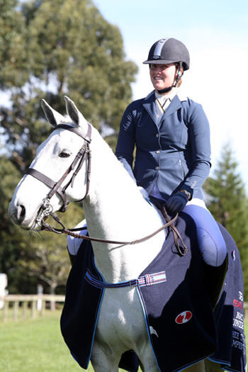 Davina Waddy and Millburn Maringo were named National Three Day Event Junior Rider Championship after finishing second in the CCI1*.