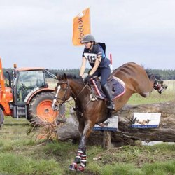 Mixed fortunes for NZ eventing's Super League riders