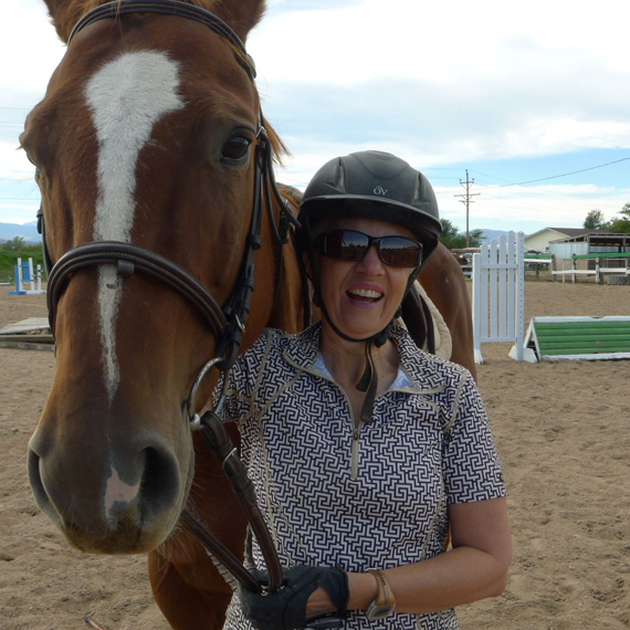 """Wendy Wood: """"This is a growing area in the horse industry and in therapeutics, and there is tremendous student interest in this area. This project is a natural fit for Colorado State University."""""""
