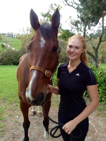 Lauren Alexander with BMW Ripley.