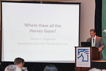 James Gagliano of The Jockey Club