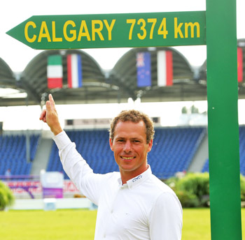 Christian Ahlmann is Spruce Meadows bound as the contender for the Rolex Grand Slam.