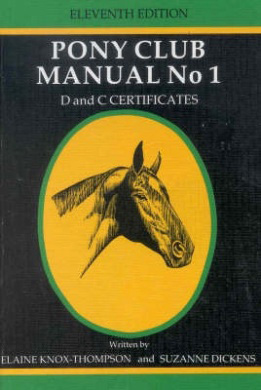 Elaine Knox-Thompson co-wrote the New Zealand Pony Club Manual series with Elaine Dickens.
