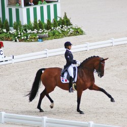 Rivera de Hus and Jessica Michel (France).