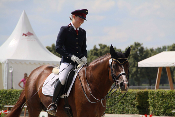 Horses seem to be truly gender-neutral. It does not matter to them whether their human partner is female or male. Photo: Juliane Kuhl / Vetmeduni Vienna