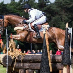 Is Michael Jung up for the Burghley Horse Trials challenge?