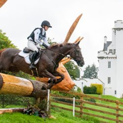Jung poised for third straight European eventing title
