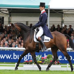 Fox-Pitt ties lead after Burghley Horse Trials dressage