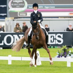 Germany dances to lead in European Eventing Champs