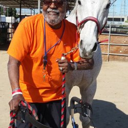 US national award for OTTB therapy horse