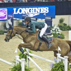 Showjumpers start race for World Cup in Norway