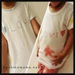 夏休みに子供が退屈したらTシャツ作りが楽しい