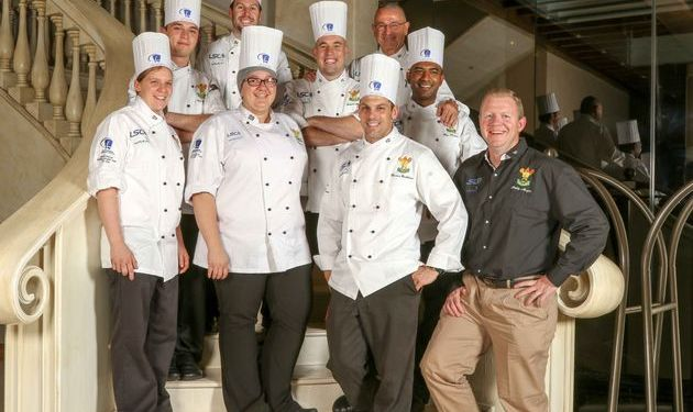 Springbok' Malay style crayfish and coconut – South African chefs prepare for Culinary Olympics...