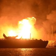 Fuel Barge Explosion