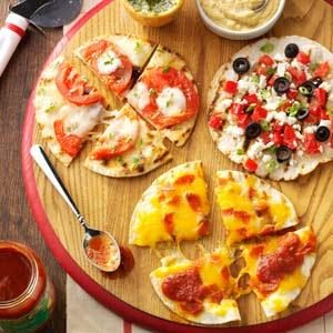 Appetizer Pizzas Recipe