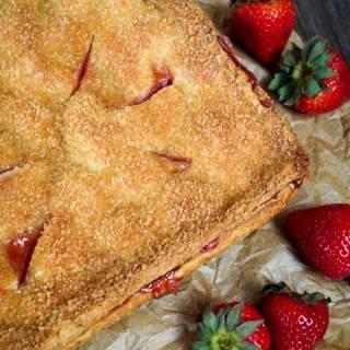 Strawberry Slab Pie - Hostess At Heart-2