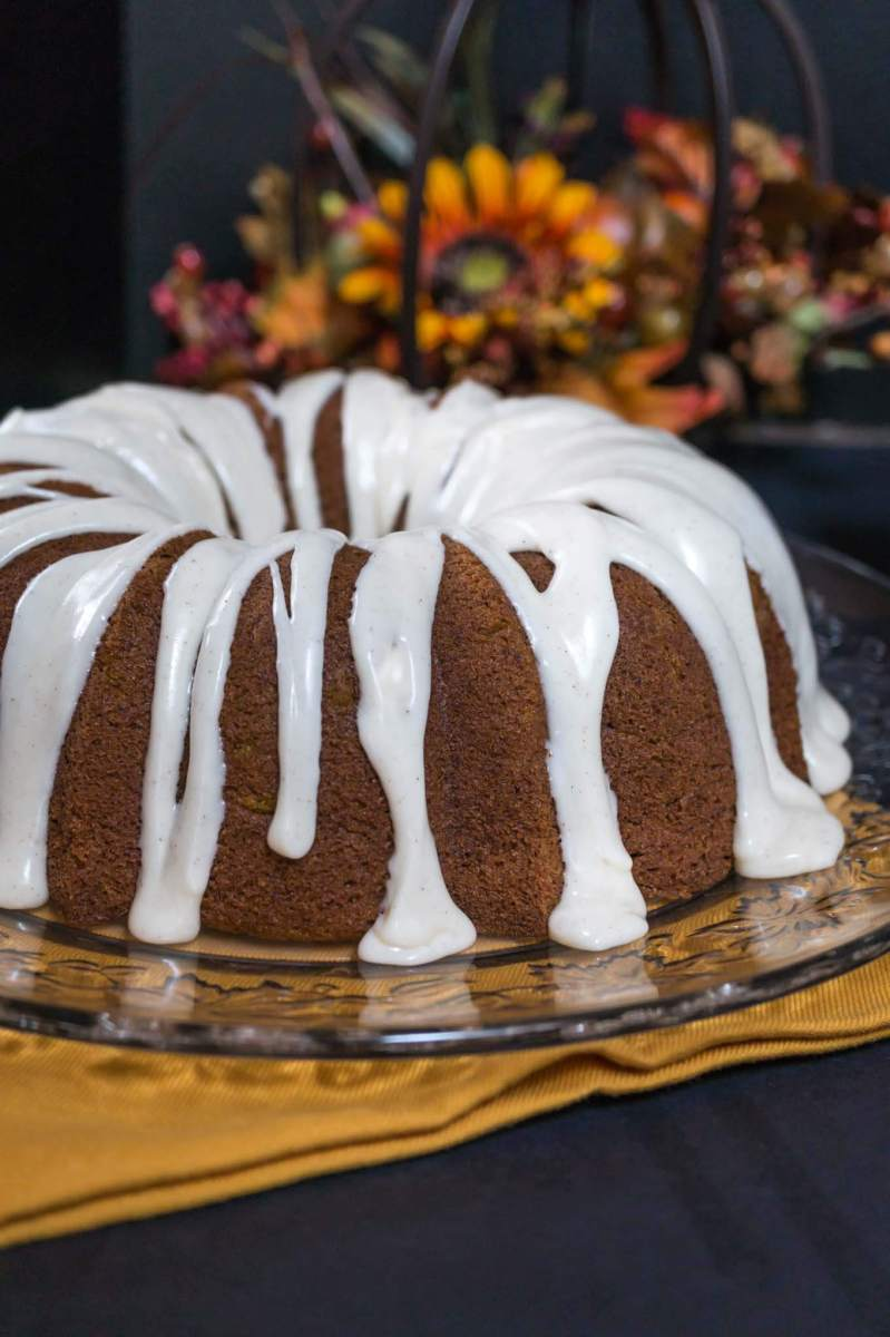 Pumpkin Spice Buttermilk Cake