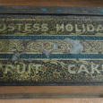 Here is a beautiful tin fruitcake container. Depending on how you read it, it's difficult to tell if the Hostess company had anything to do with it, is it a […]