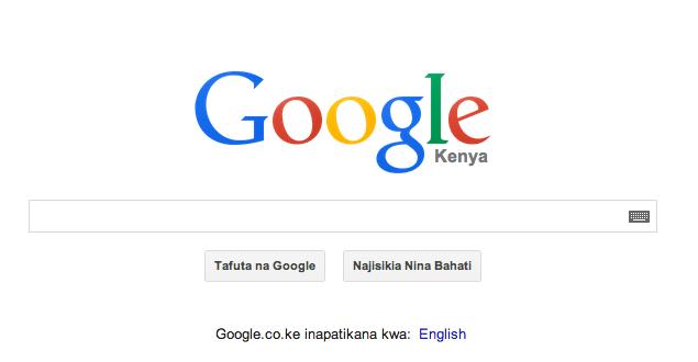 Google.co.ke