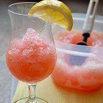 Boozy Pink Lemonade Slush