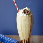 Adult Chocolate Covered Pretzel Milkshake