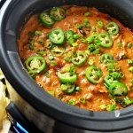 Slow Cooker Chili Cheese Dog Dip
