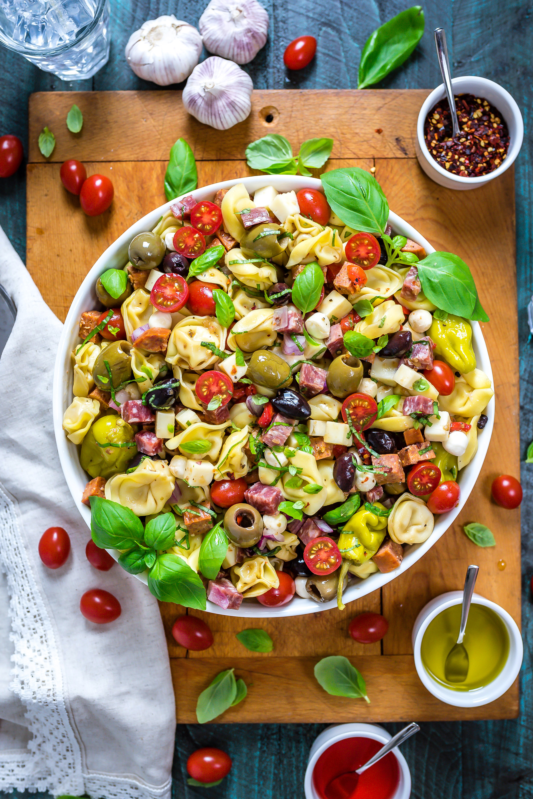 Inspirational A Large Bowl That Rests On Ofa Wooden Antipasto Tortellini Pasta Salad Host Toast Antipasto Salad Recipe Balsamic Antipasto Salad Recipe Buca Di Beppo Antipasto Tortellini Pasta Salad nice food Antipasto Salad Recipe