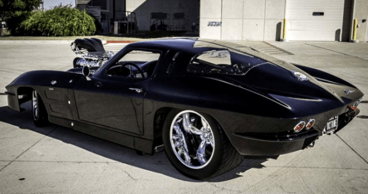 Outrageous Pro Street 1963 Corvette Split Window Hot Cars