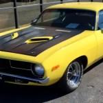 custom 1972 plymouth barracuda video
