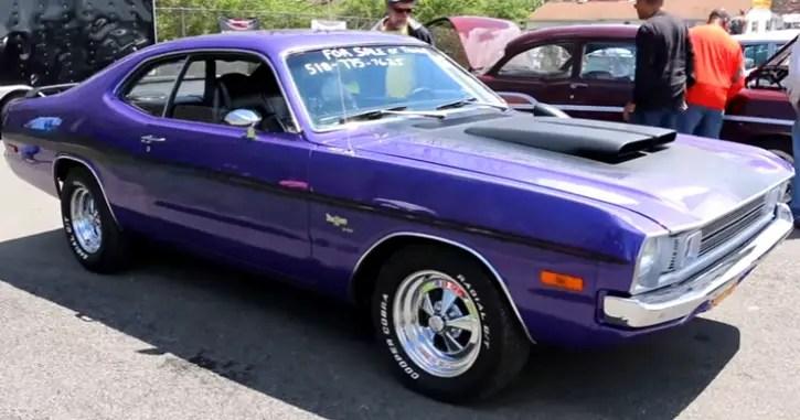 Plum Crazy 1972 Dodge Demon 340 H-Code Review | HOT CARS