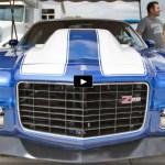 nitrous 1970 chevrolet camaro z28 drag racing