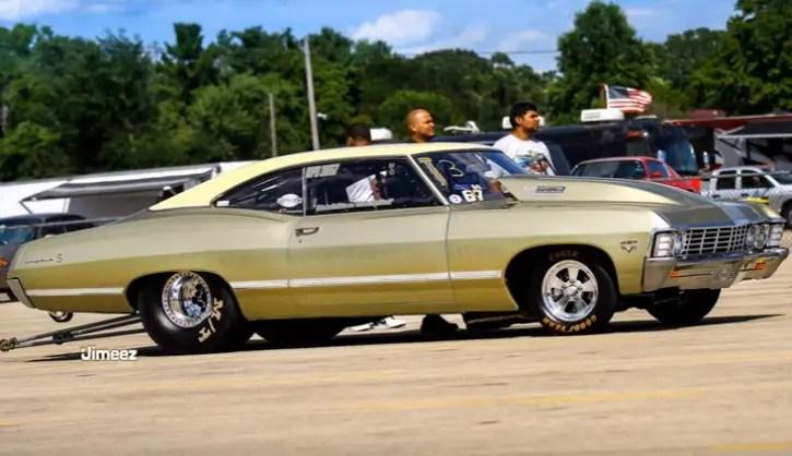 Eddie Big Block 1220hp 1967 Impala Drag Racing Hot Cars