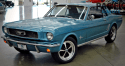 custom built 1966 ford mustang coupe