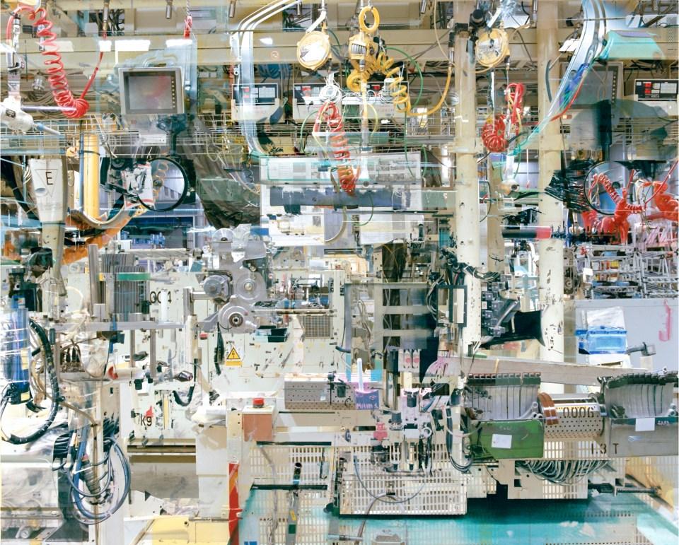 Melting Brasilia –Superquadras #4 C-print -2010, 180 x 230 cm Stéphane Couturier – Galerie Polaris