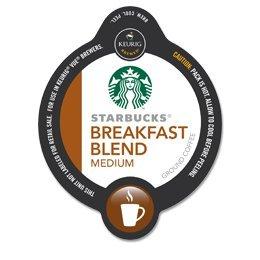 Starbucks Breakfast Blend Coffee Vue Cup For Keurig Vue Brewers 16 Pack