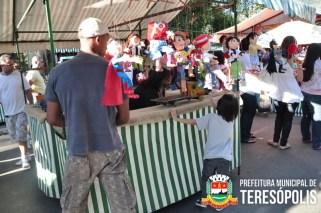Artesãos e Artistas de Teresópolis montam todos os finais de semana a Feirinha no bairro do Alto.