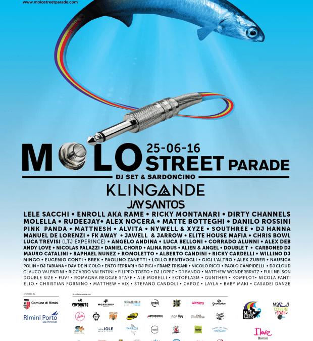 MOLO STREET PARADE 25 GIUGNO 2016