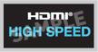 HDMI High Speed Logo