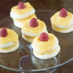 Meringues with Lemon Curd and…It's the Little Things